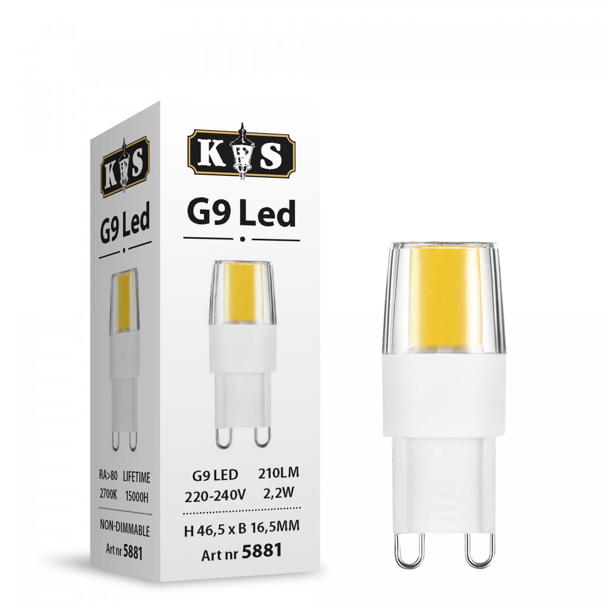 Leuchtmittel G9 LED 3.5W