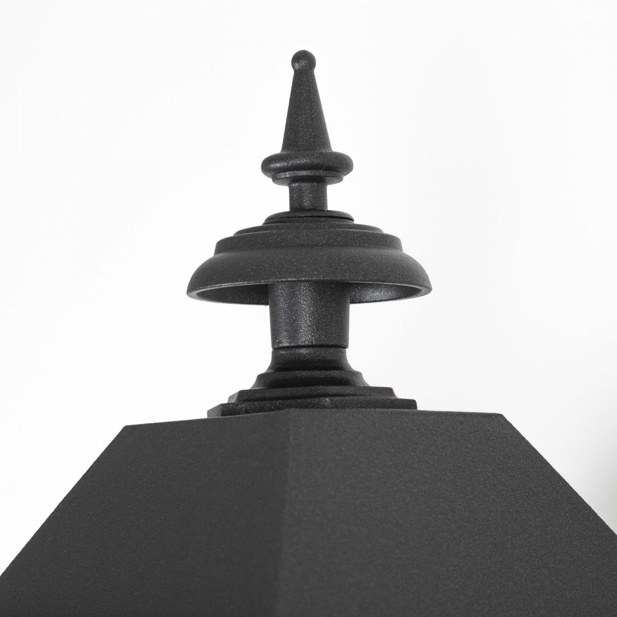 Klassische, handgefertigte Wandleuchte M41, Anthrazit