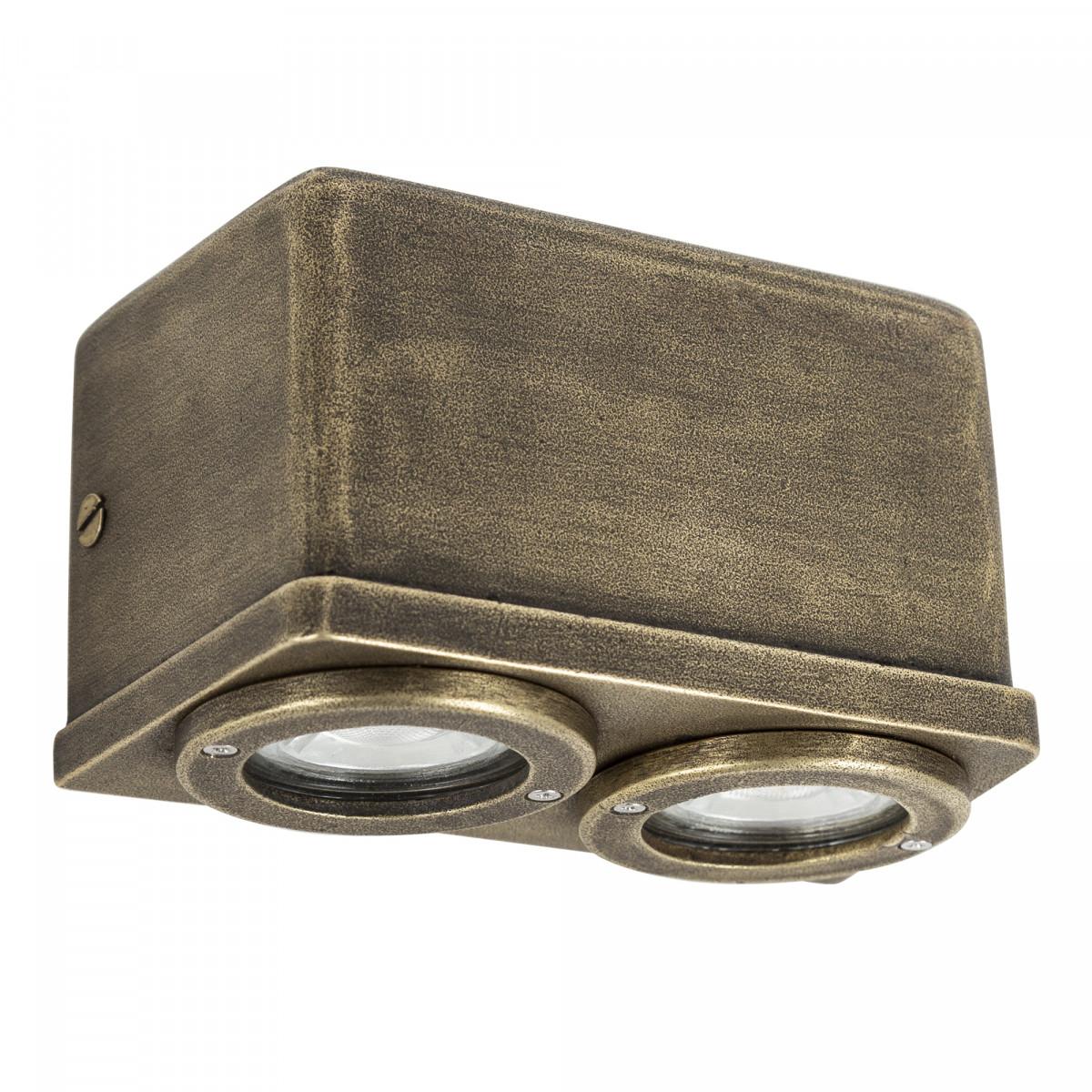Außenwandleuchte Spectre Downlight Bronze