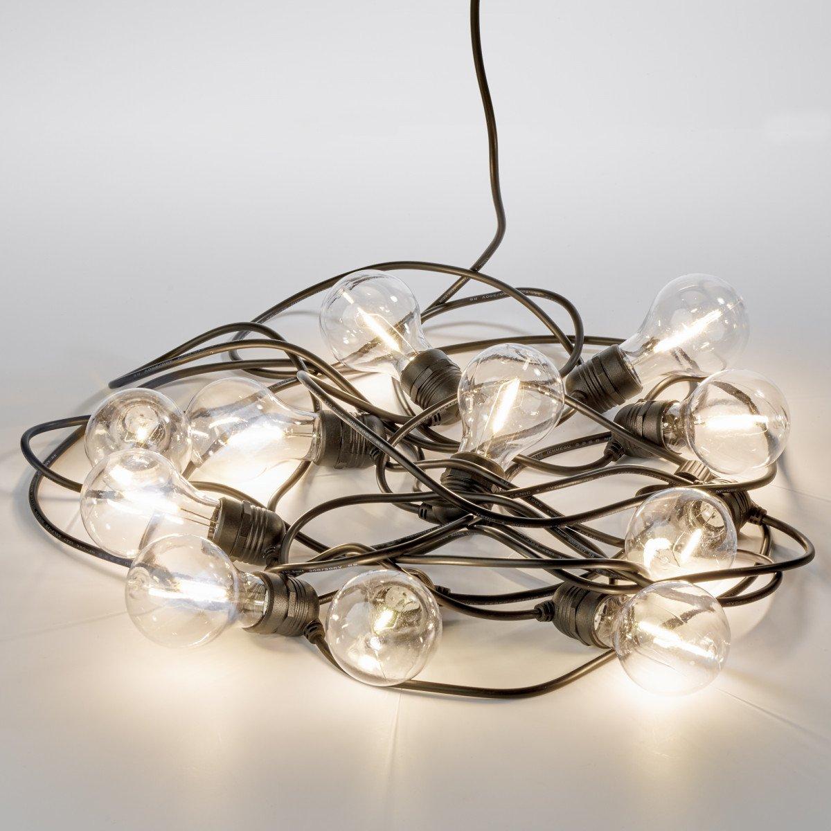 Party 30m Lichterkette klar Inkl. LEDs - 30 Meter / 45 Leuchtmittel