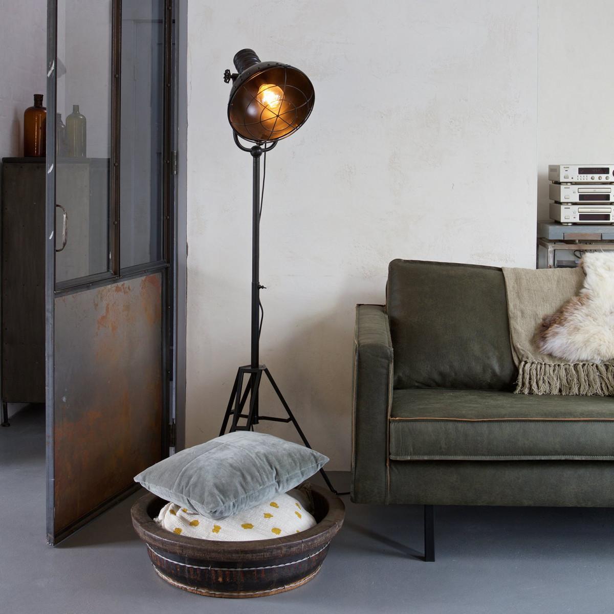 BePure Stehleuchte Spotlight Industrial-Stil