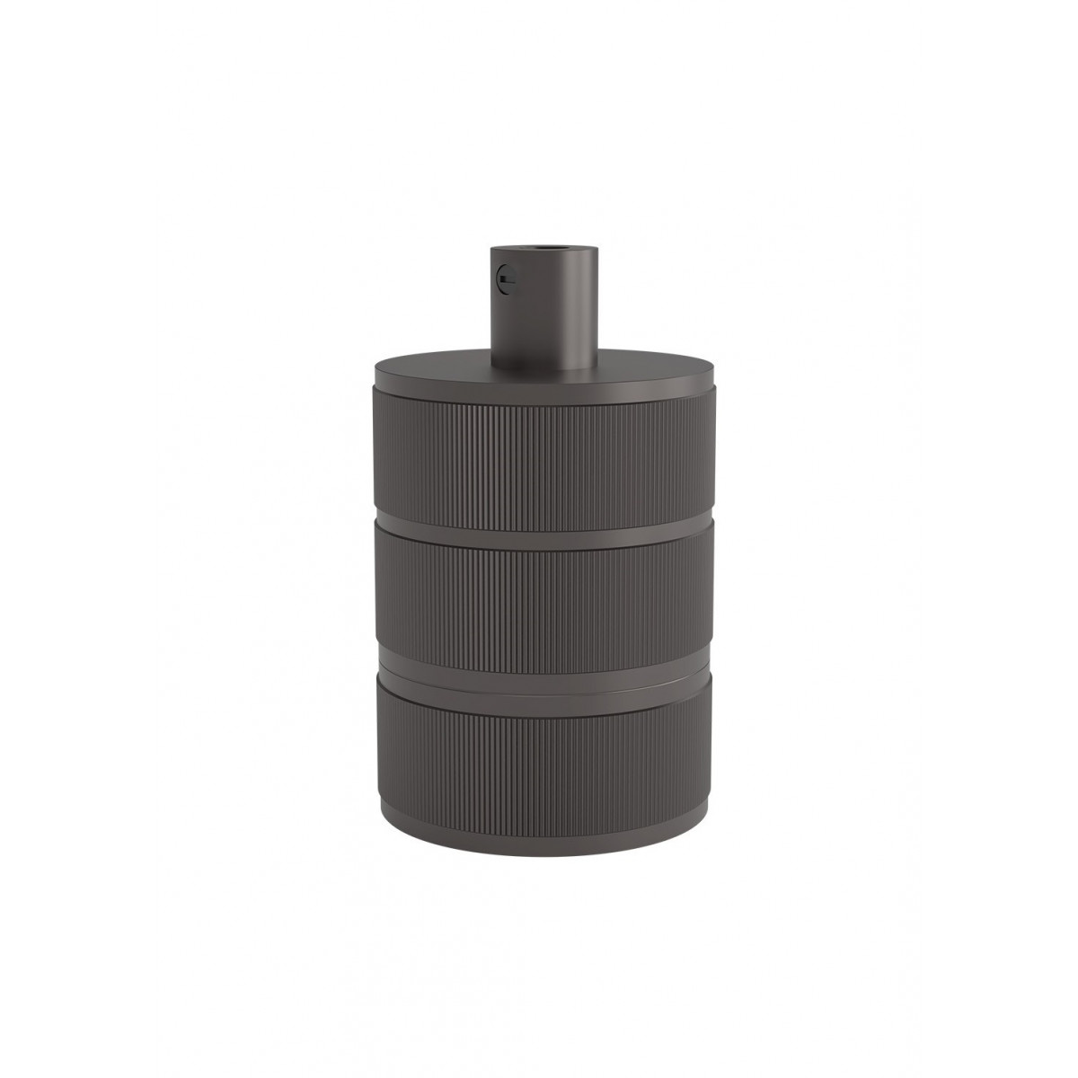 E27 Fassung perlmutt schwarz