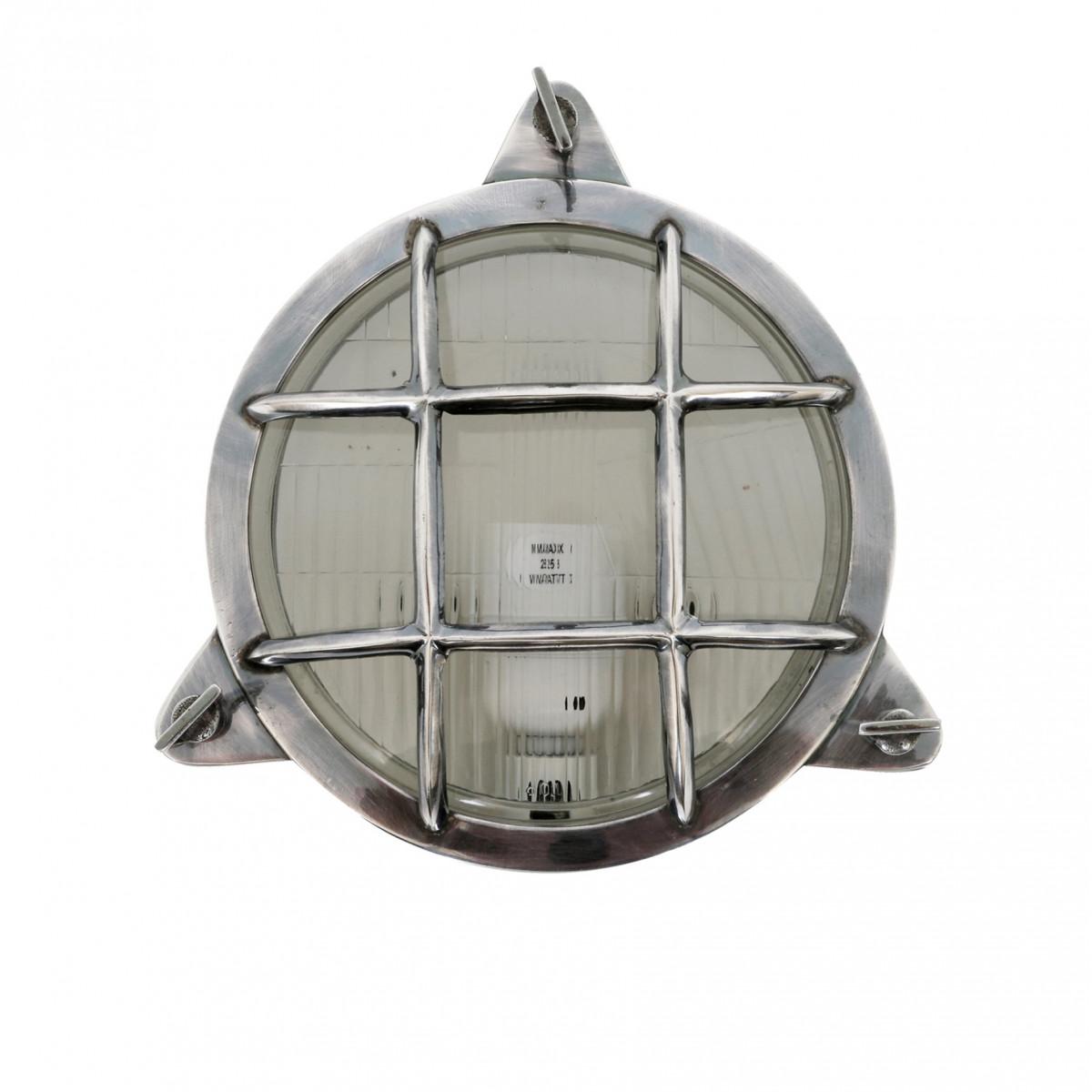 Wand-/Deckenleuchte Clipper Antik-Silber