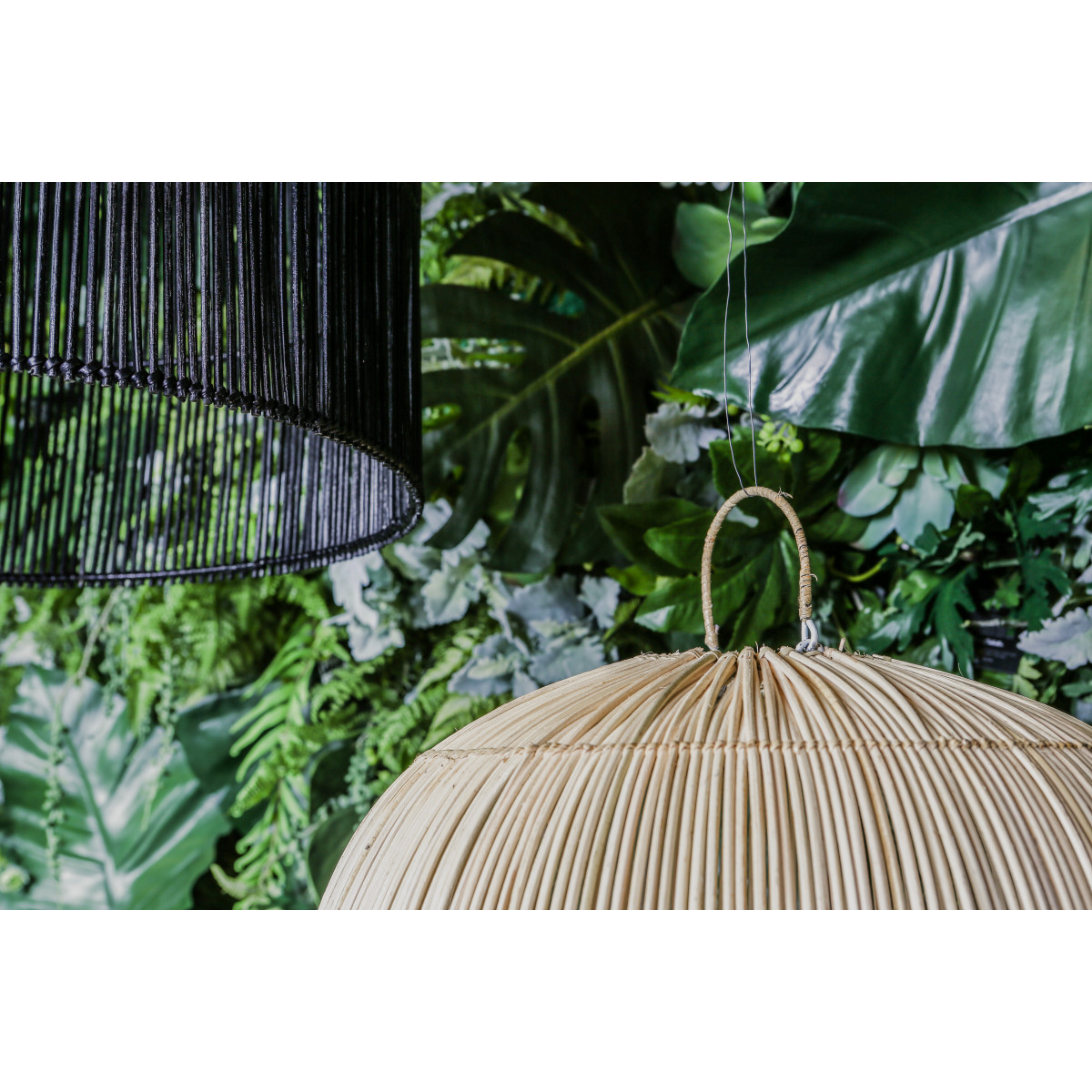 PTMD Colby Rattan Lampenschirm