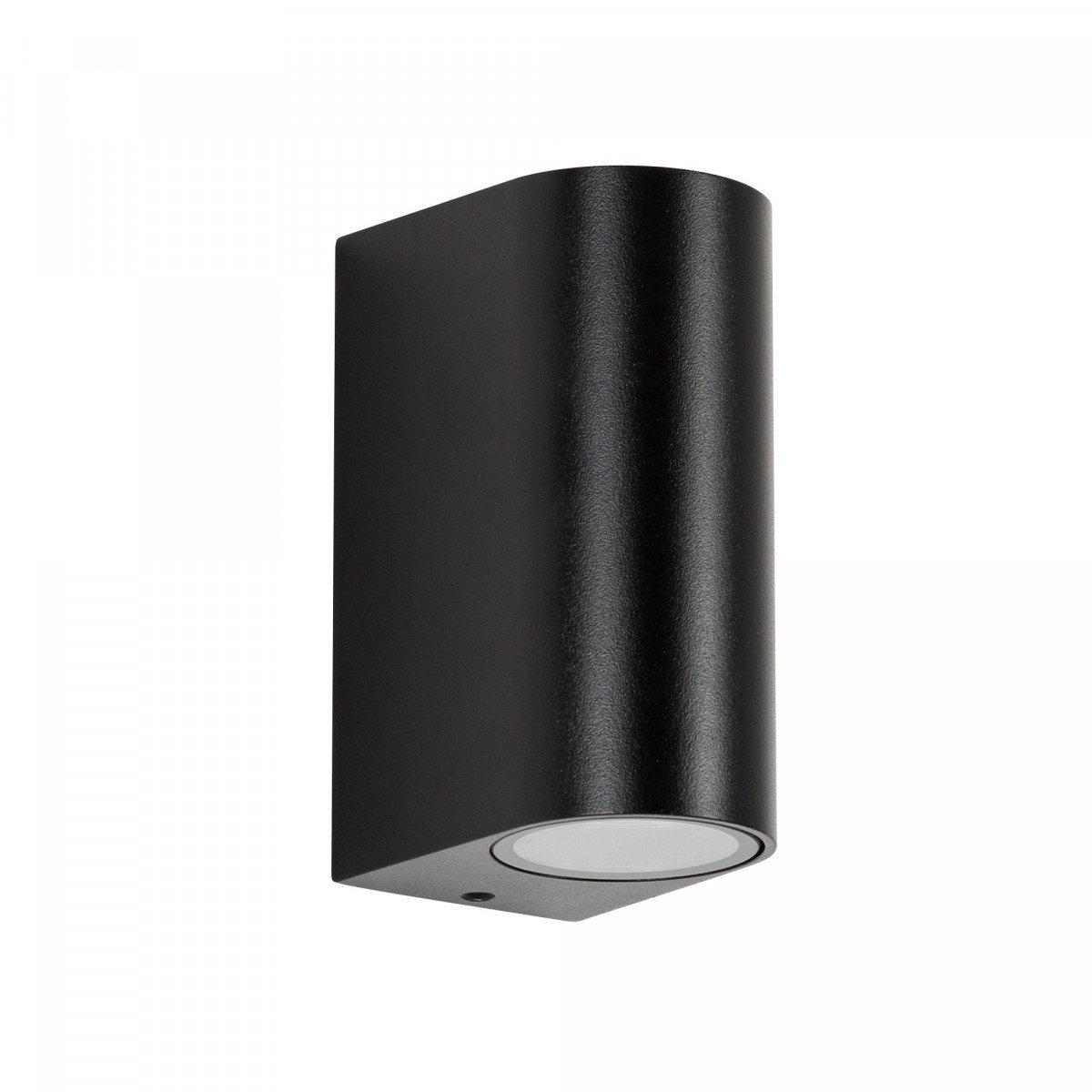Außenbeleuchtung Flash Up & Down Schwarz Wandbeleuchtung