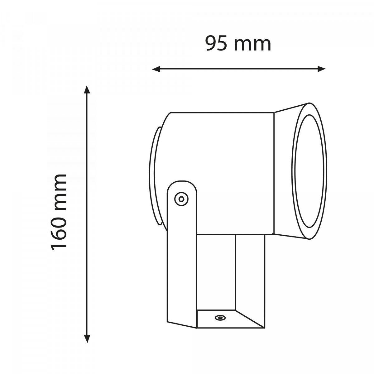 Außenleuchte Radius Displaylampe