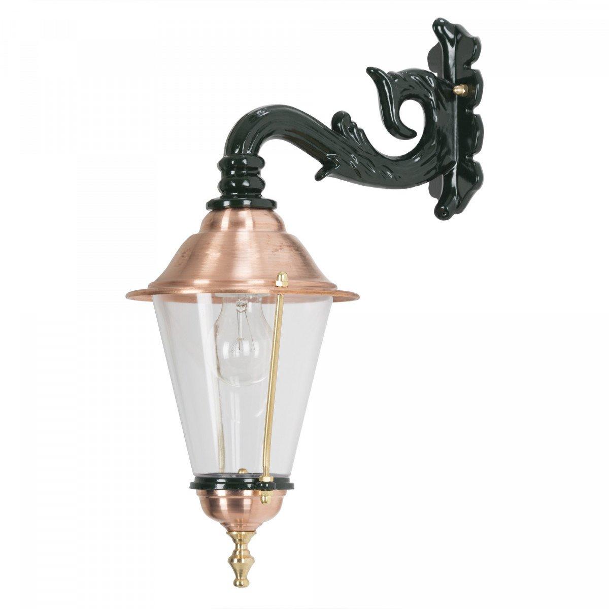 Historische Klassische Wandleuchte Hoorn Hängend mit Dämmerungssensor LED