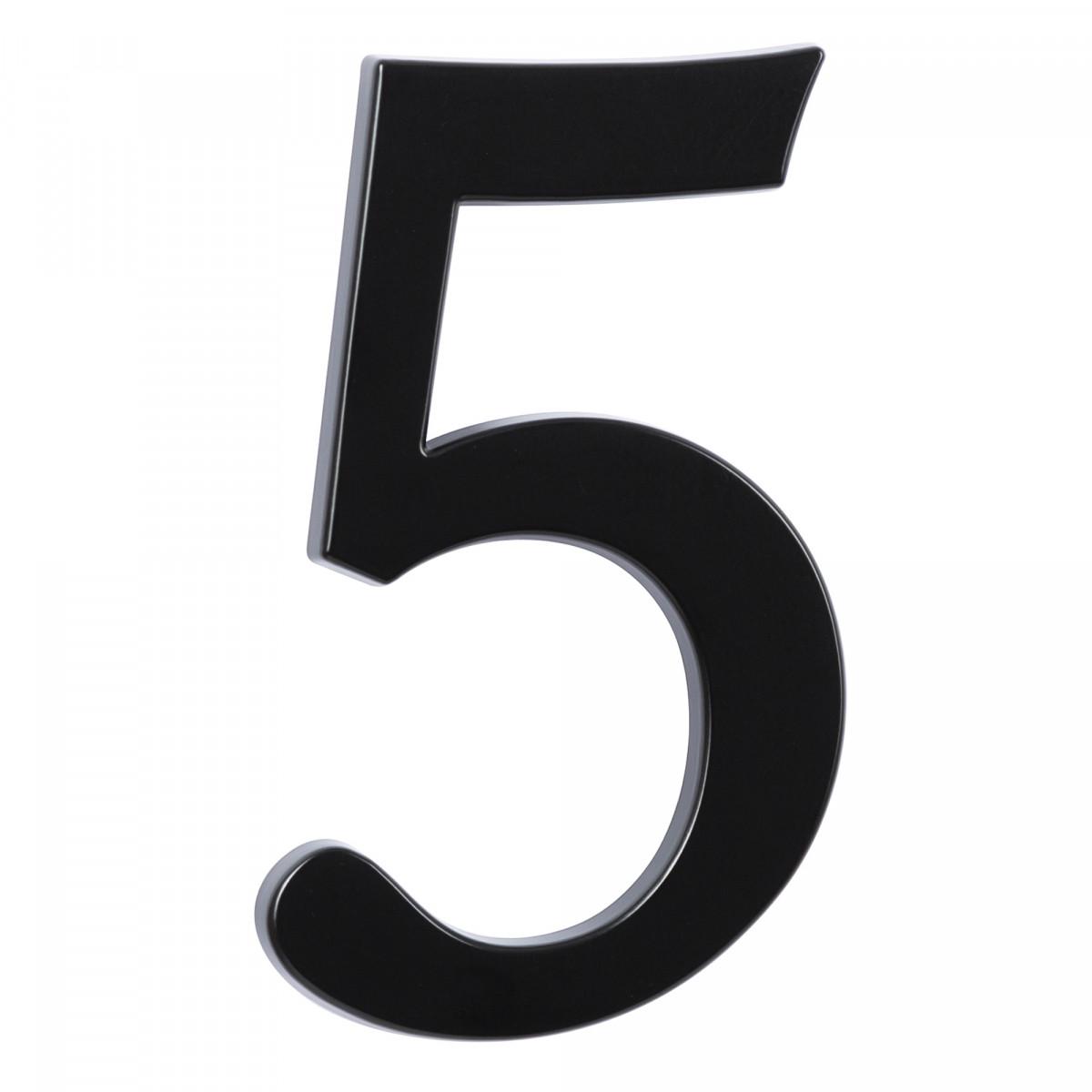 Hausnummer Groß 5