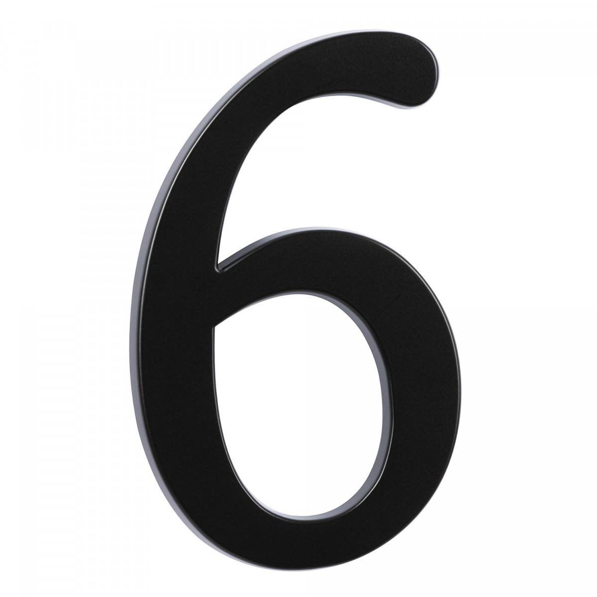 Hausnummer Groß 6