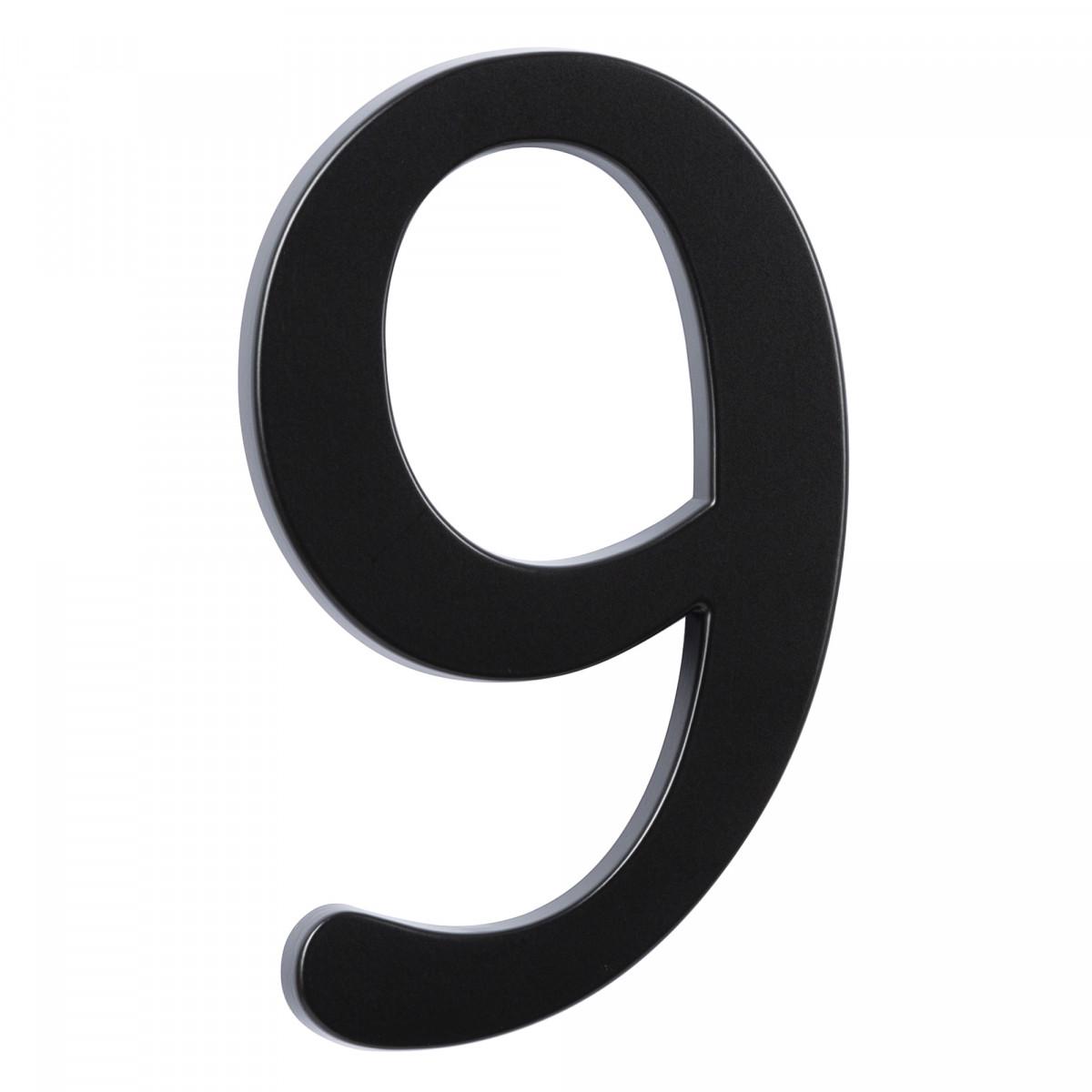 Hausnummer Groß 9