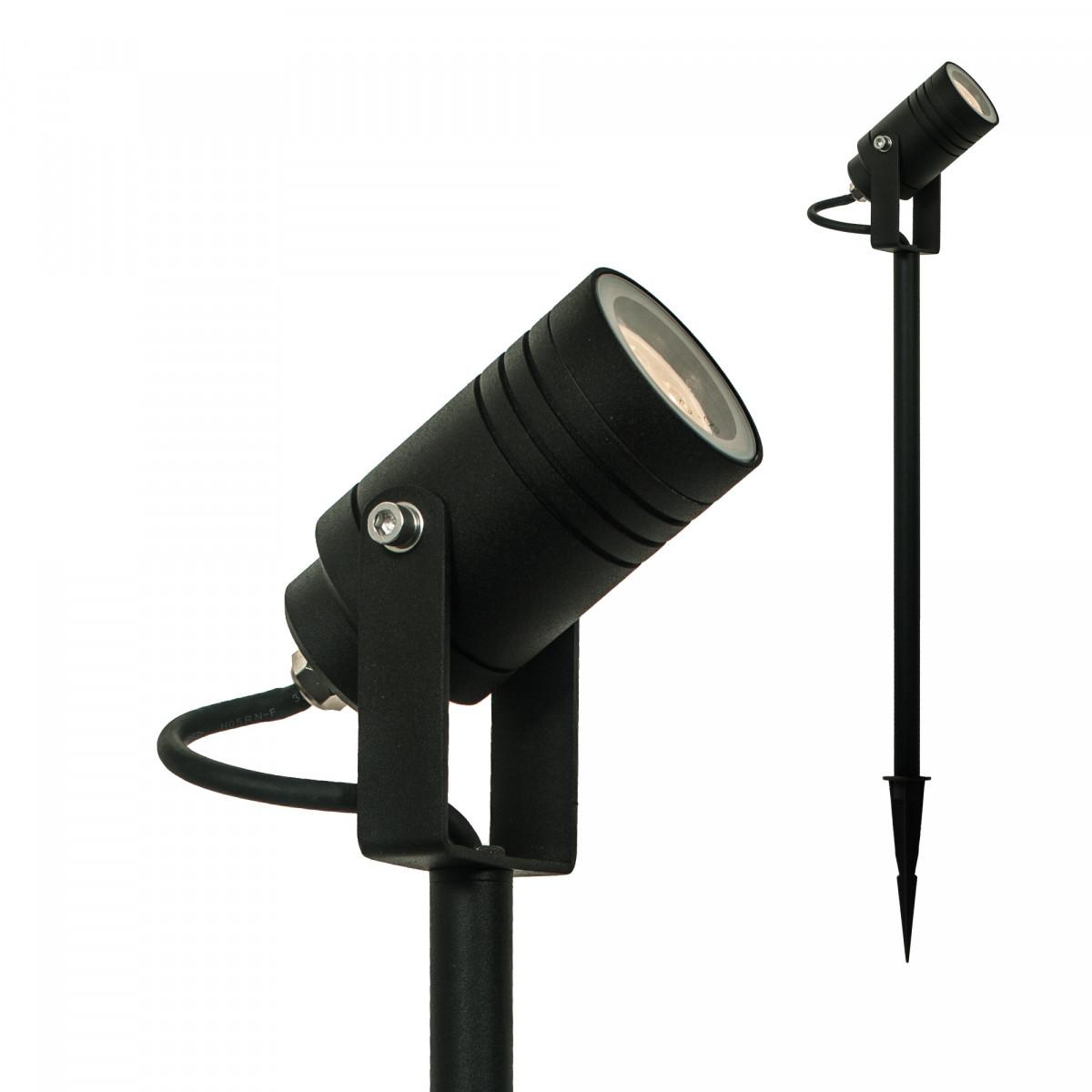 Beamy Black Large - Gartenstrahler - Trendige Fußwegbeleuchtung