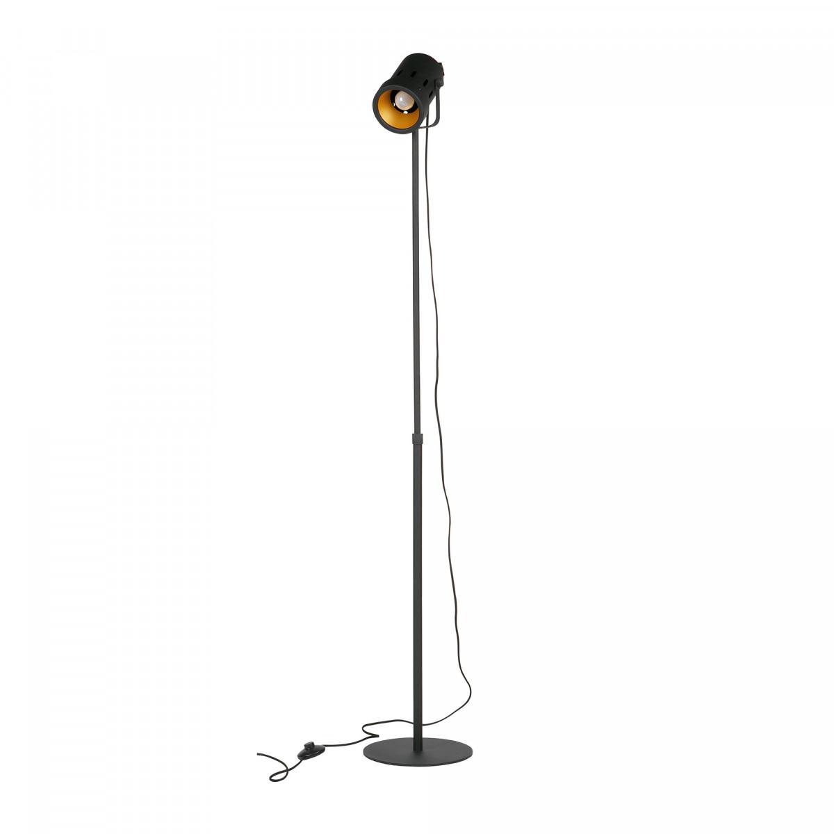 Stehlampe Delta Schwarz