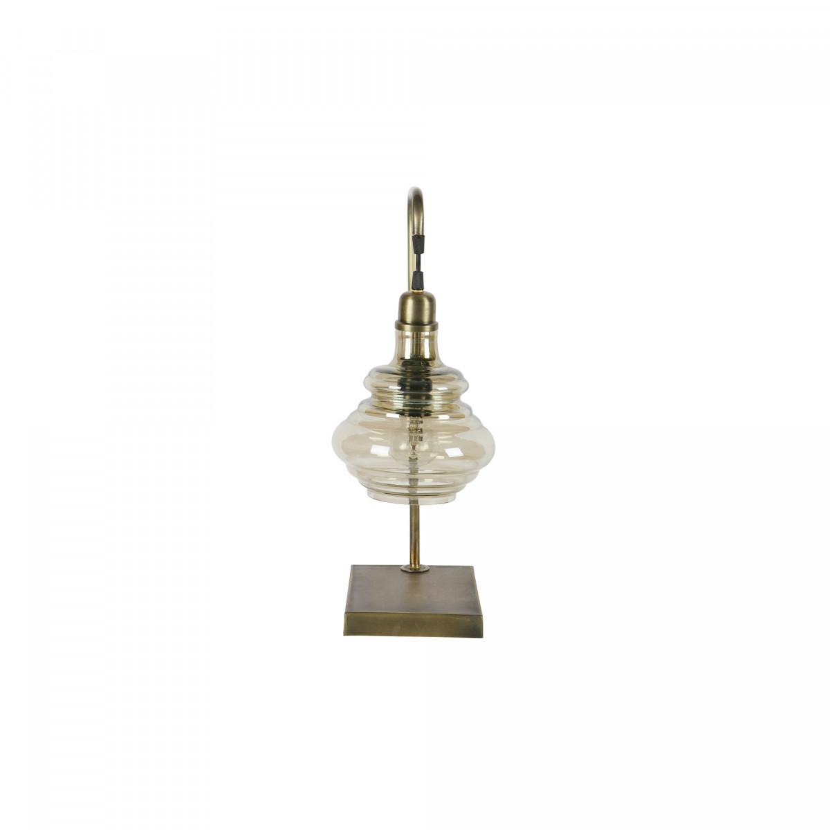 Tischlampe Obvious Antik-Messing