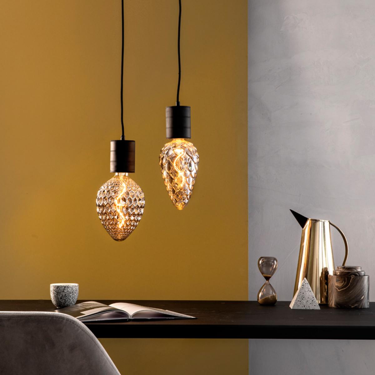 XXL Design LED Glühbirne Madrid - Stilvolle und dimmbare Lampe