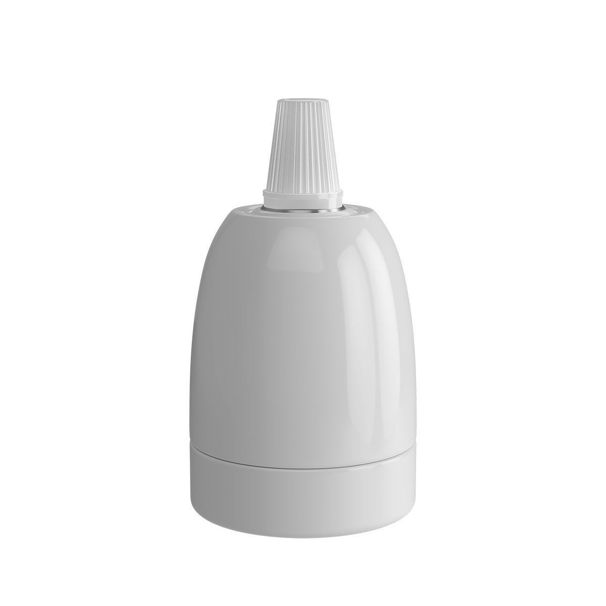 E27 Fassung Weiß