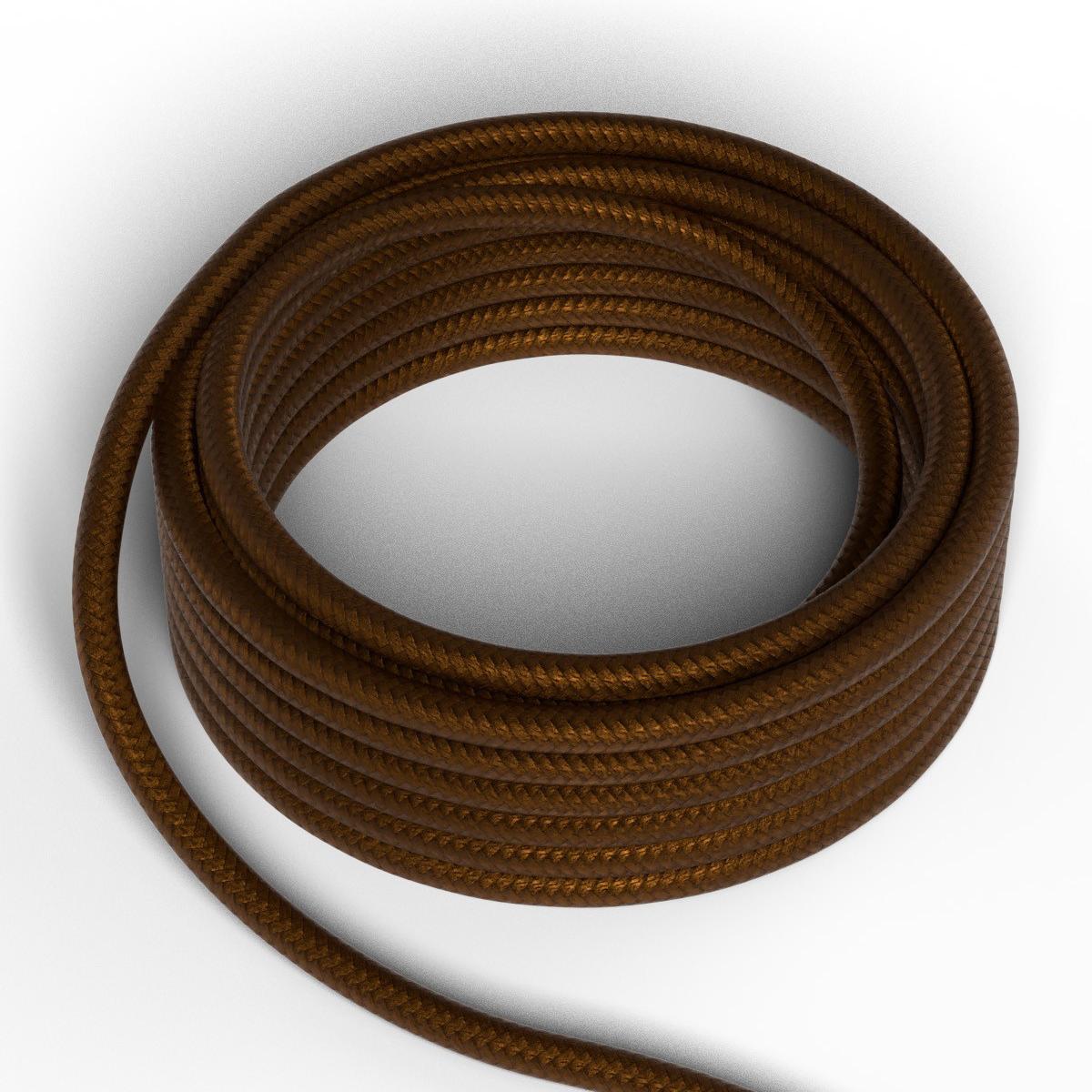 Textilkabel Braun