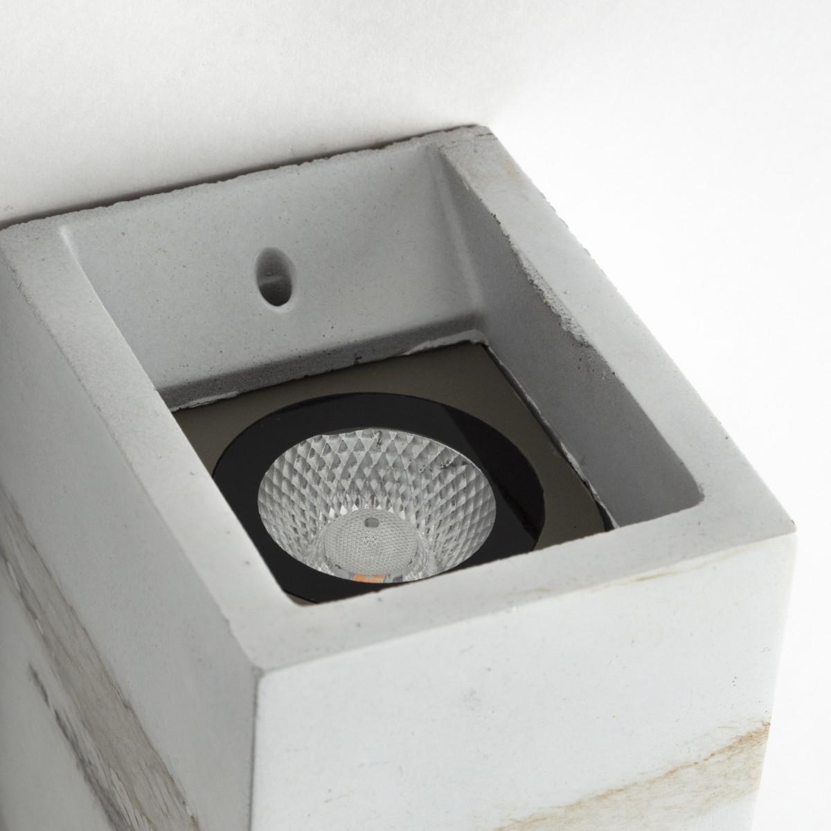 Moderne LED Wandleuchte Marbled 1 - Up & Downlight Wandlampe