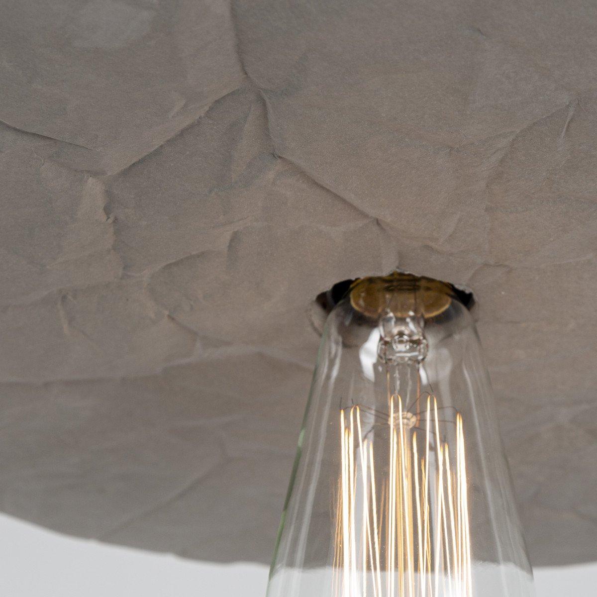 Moderne Pendelleuchte Paper aus Beton