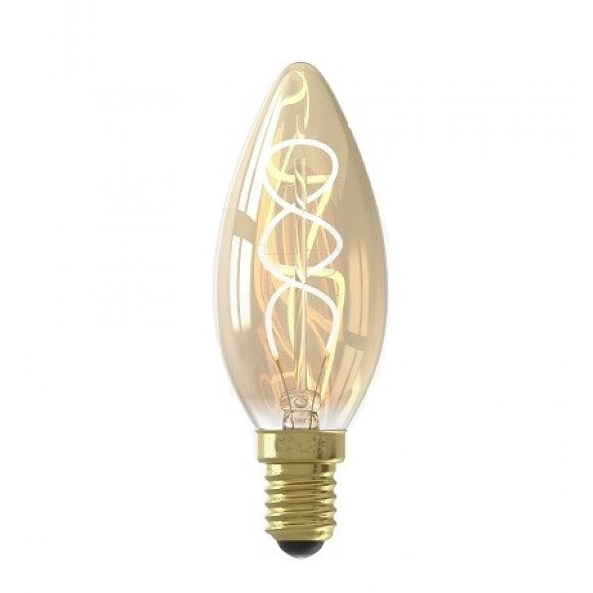 Warm-weiße E14 Kerzen-LED