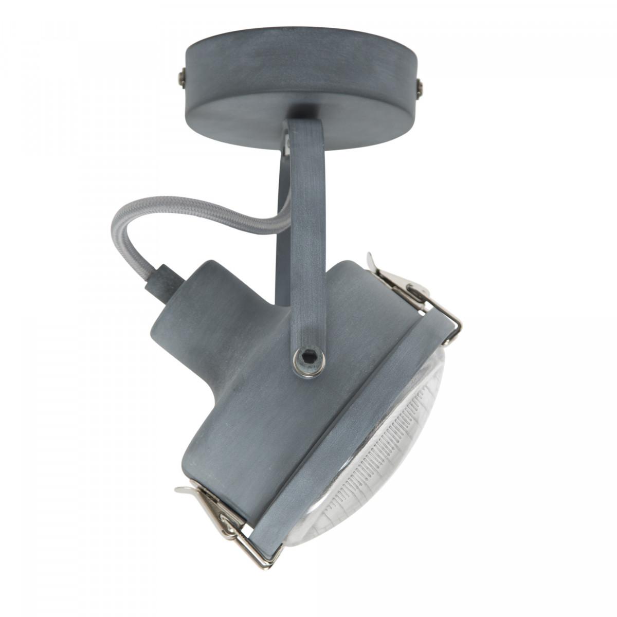 Wohnraumleuchten - Strahler - Spots - Satellite 1 spot grau - Deckensot - Nostalux