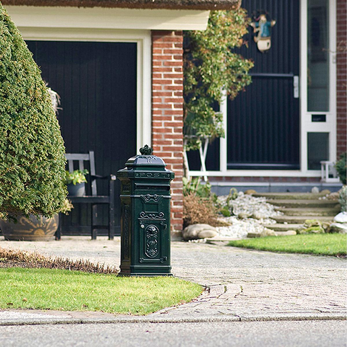 Briefkasten XL Grün