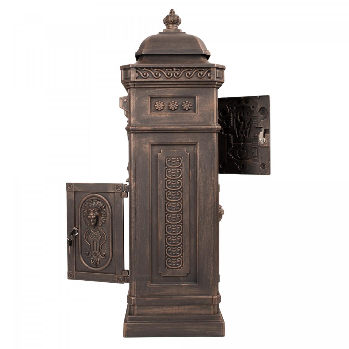 Briefkasten XL Bronze