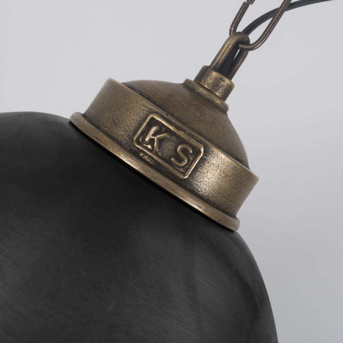 Pendelleuchte Loft II Bronze & Anthrazit