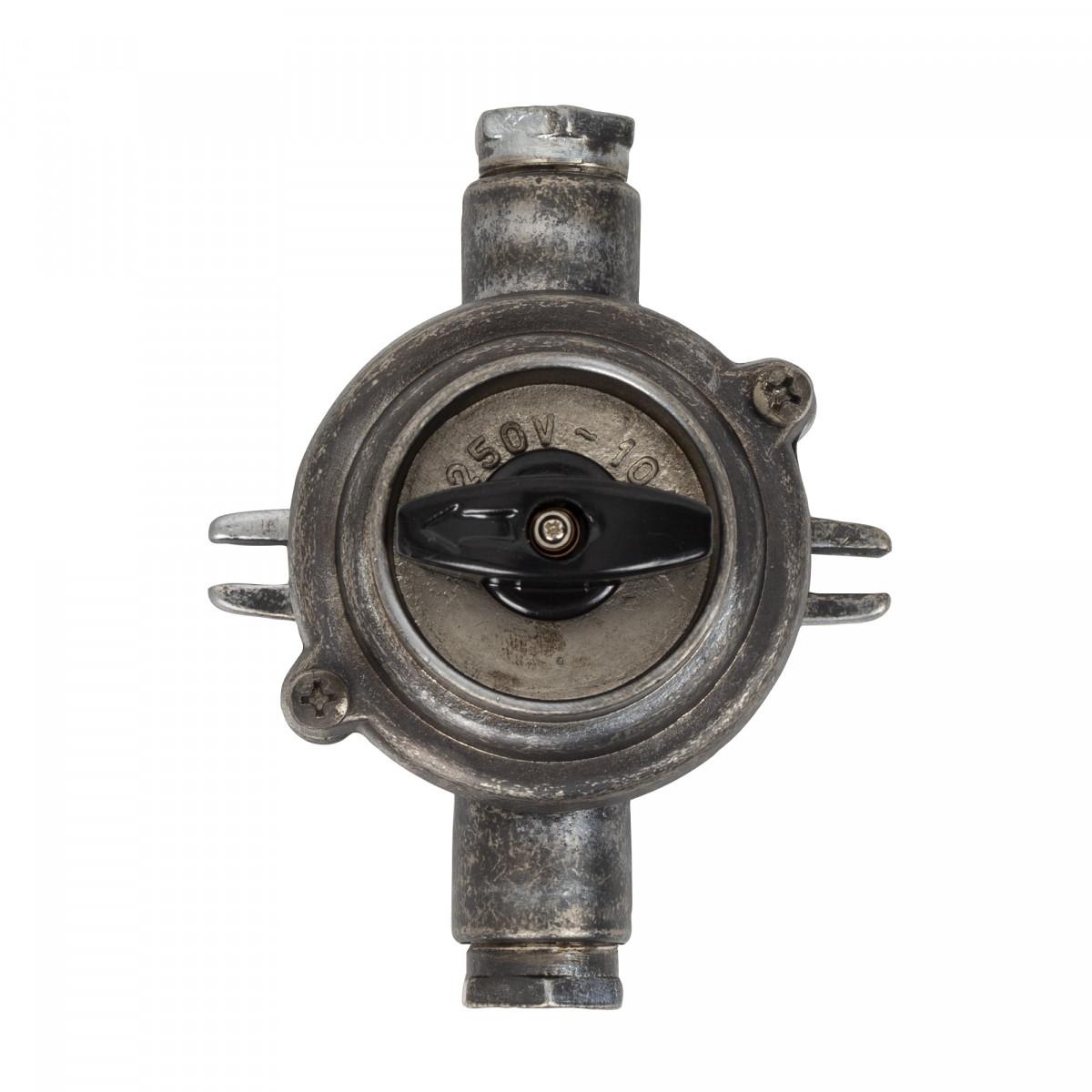 30er Jahre Stil Schalter II Zinn