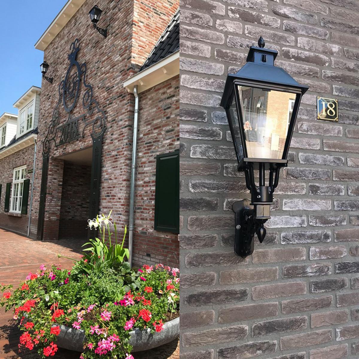Klassische Wandleuchte Katwijk