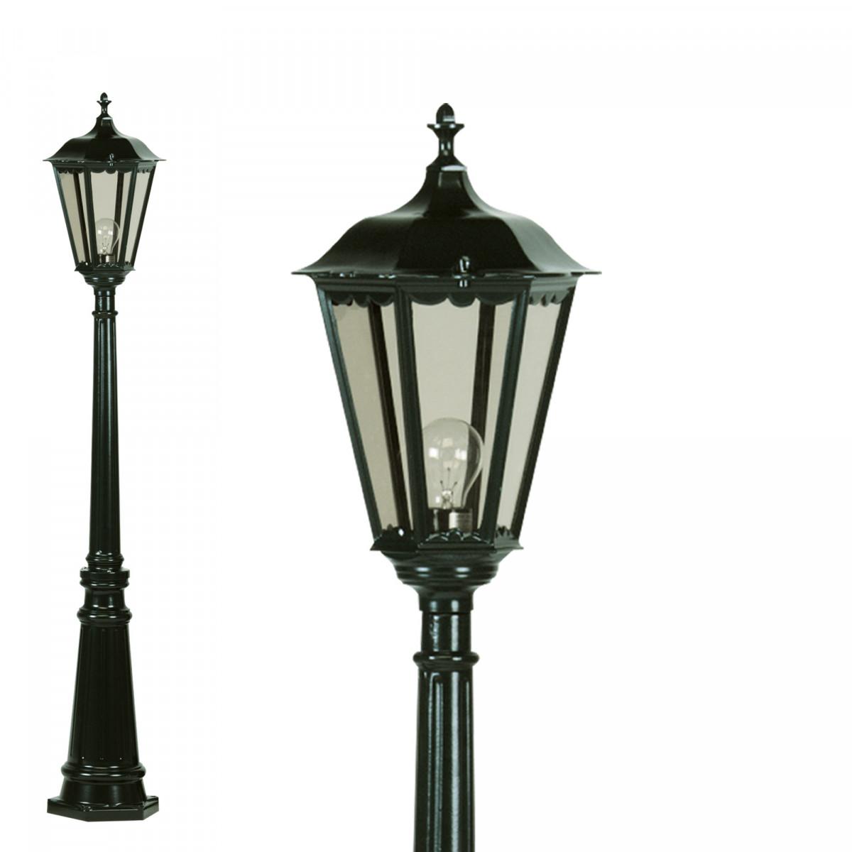 Klassische Gartenlampe Bergamo