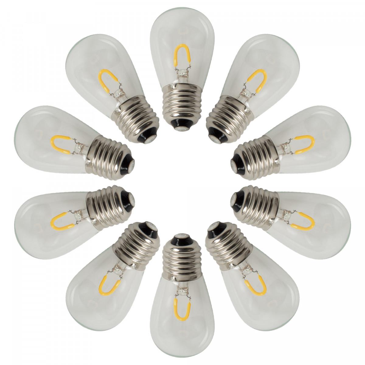 LED 1W für Lichterketten - E27