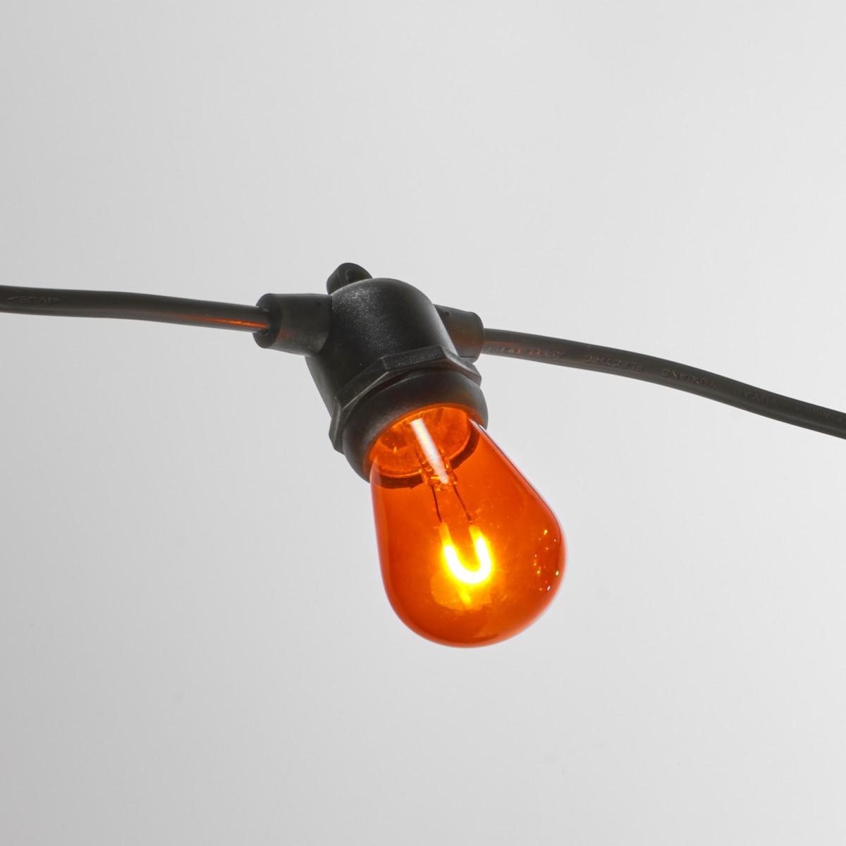 Patio 20 Innen- und Außen Lichterkette mit bunten LED's - 20 Meter