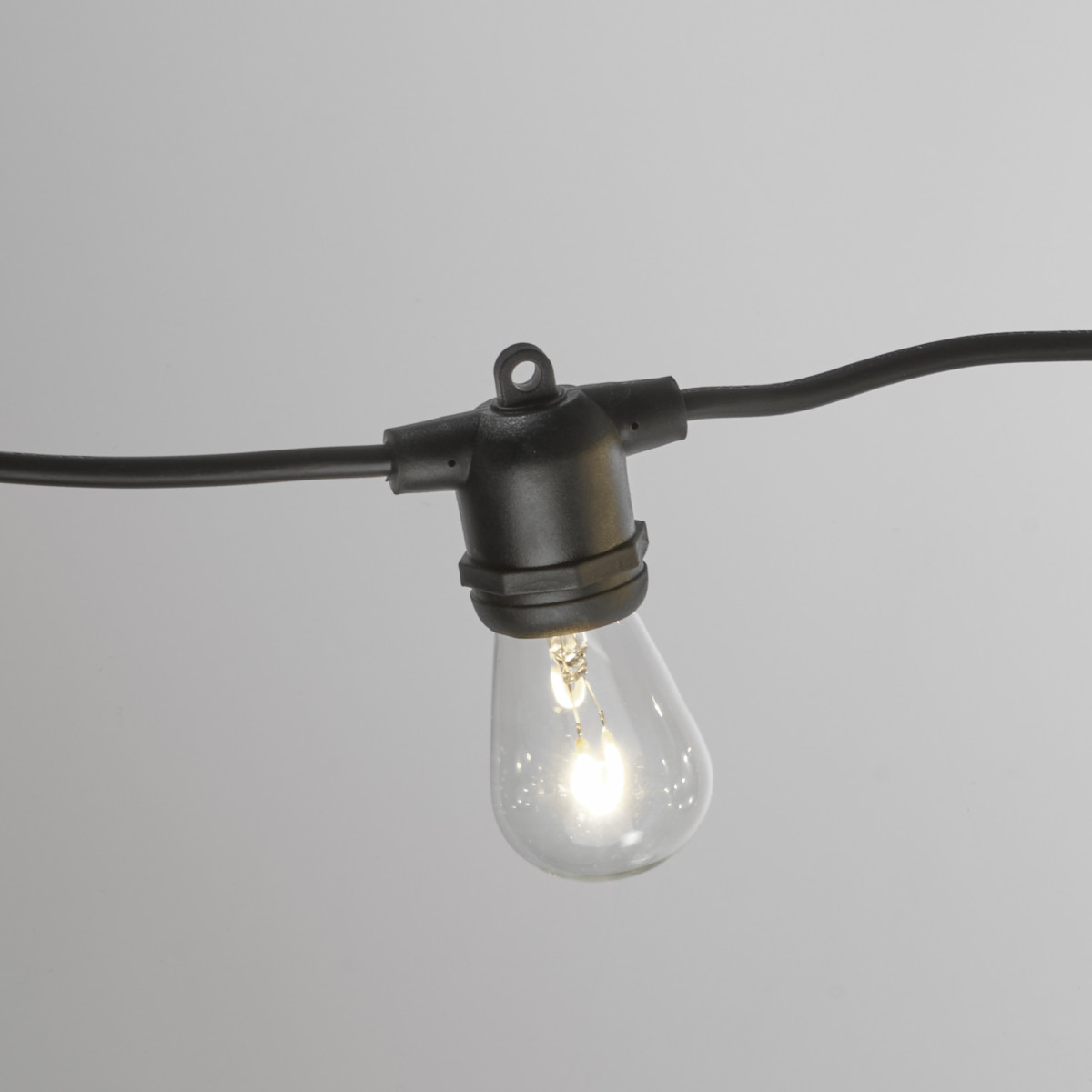 Patio 20 Innen- und Außen Lichterkette mit 24 warm-weißen LED's