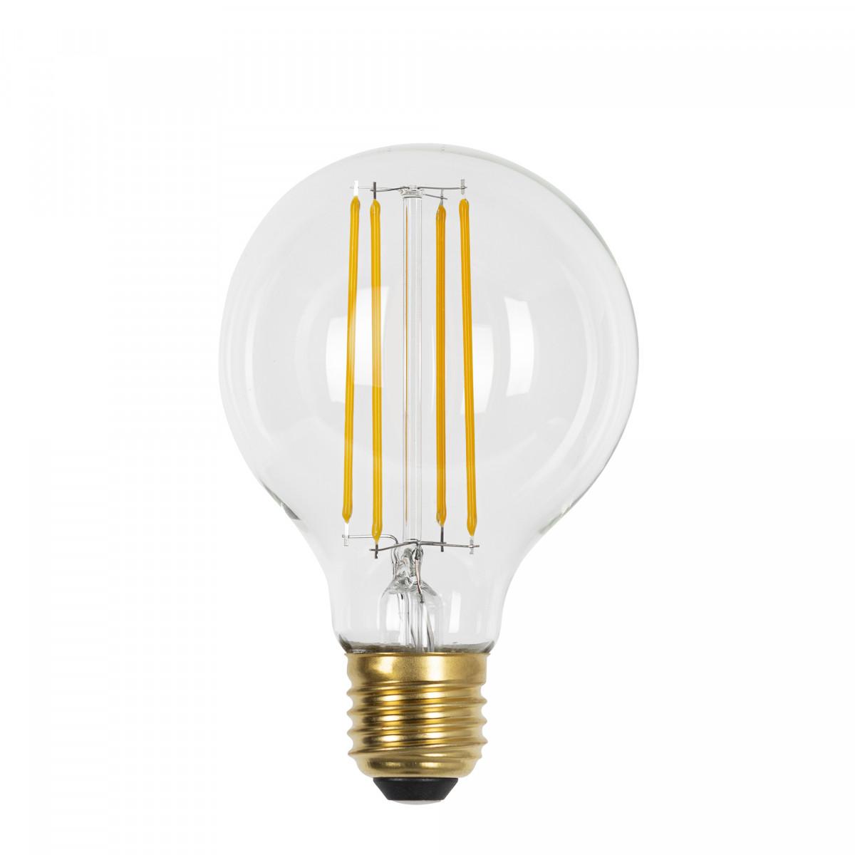 Classic Gold Globe LED in Kohlefadenoptik