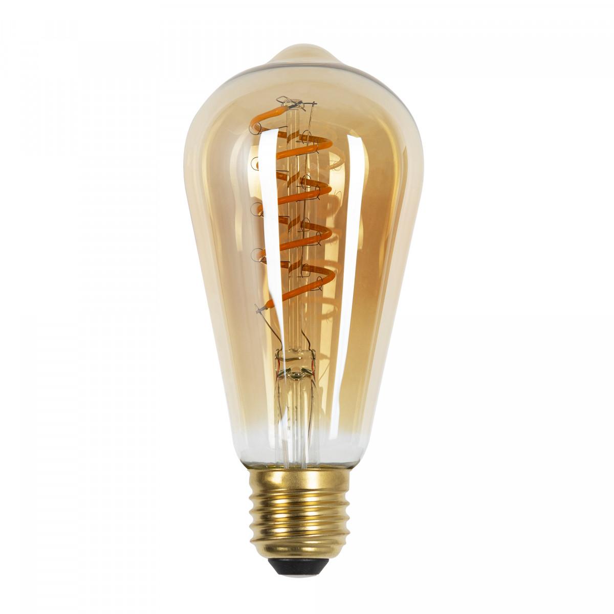 LED Leuchtmittel Rustic Spiral