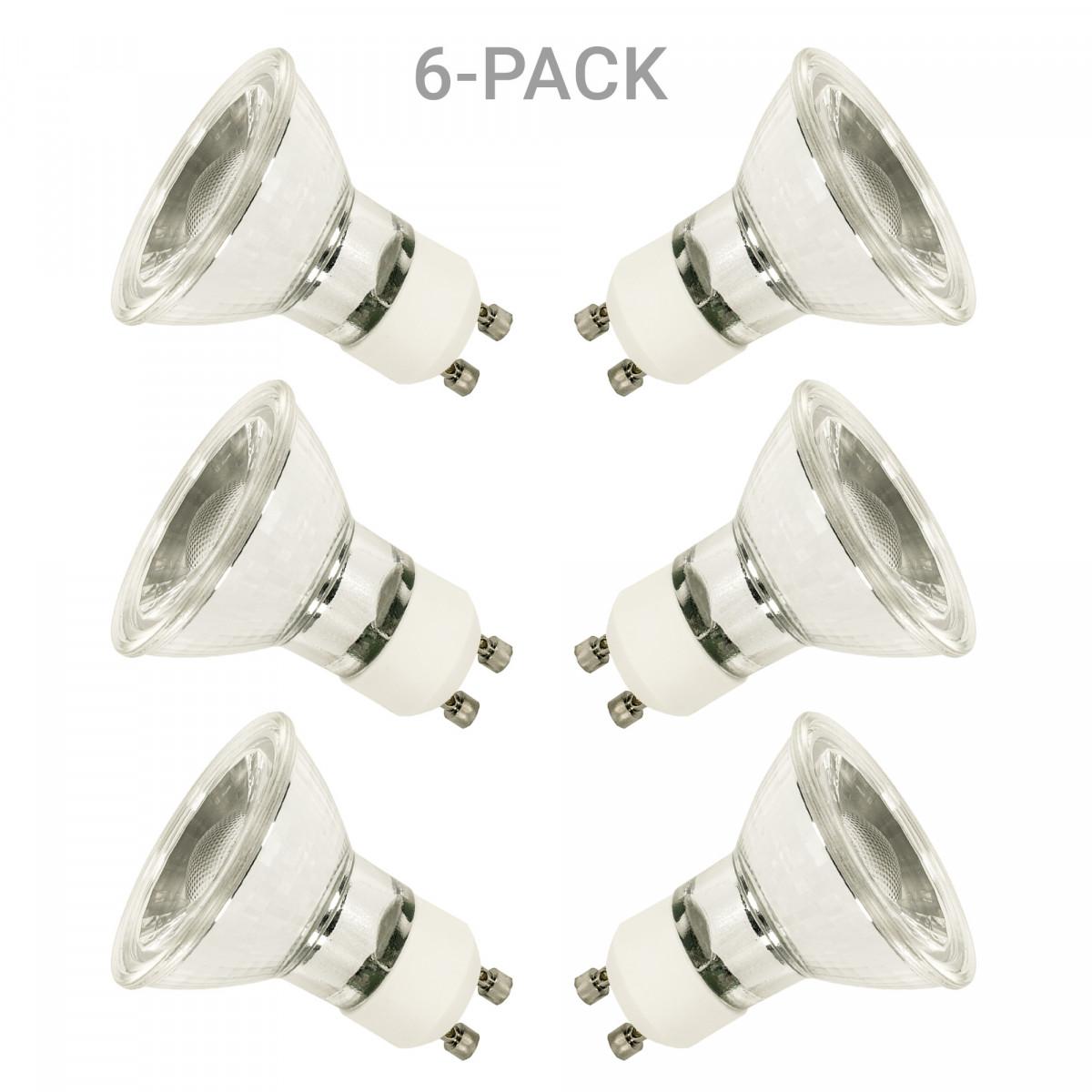 GU10 LED Leuchtmittel 3W 6er-Pack für Außen- und Gartenbeleuchtung