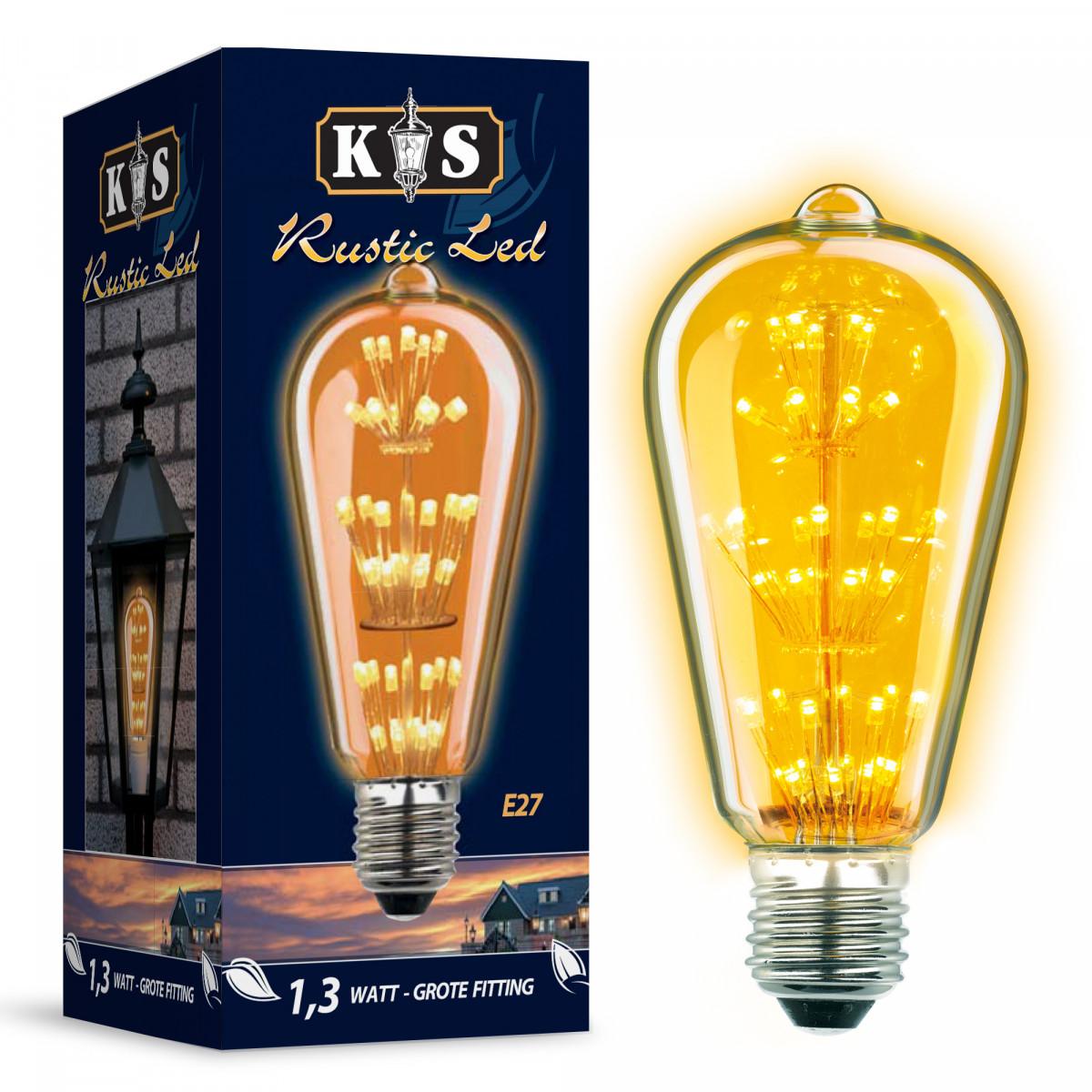 Rustic LED Leuchtmittel