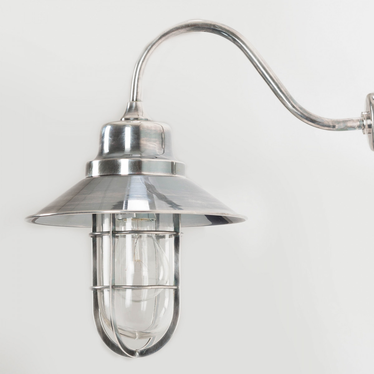 Hoflampe Vermont Silber