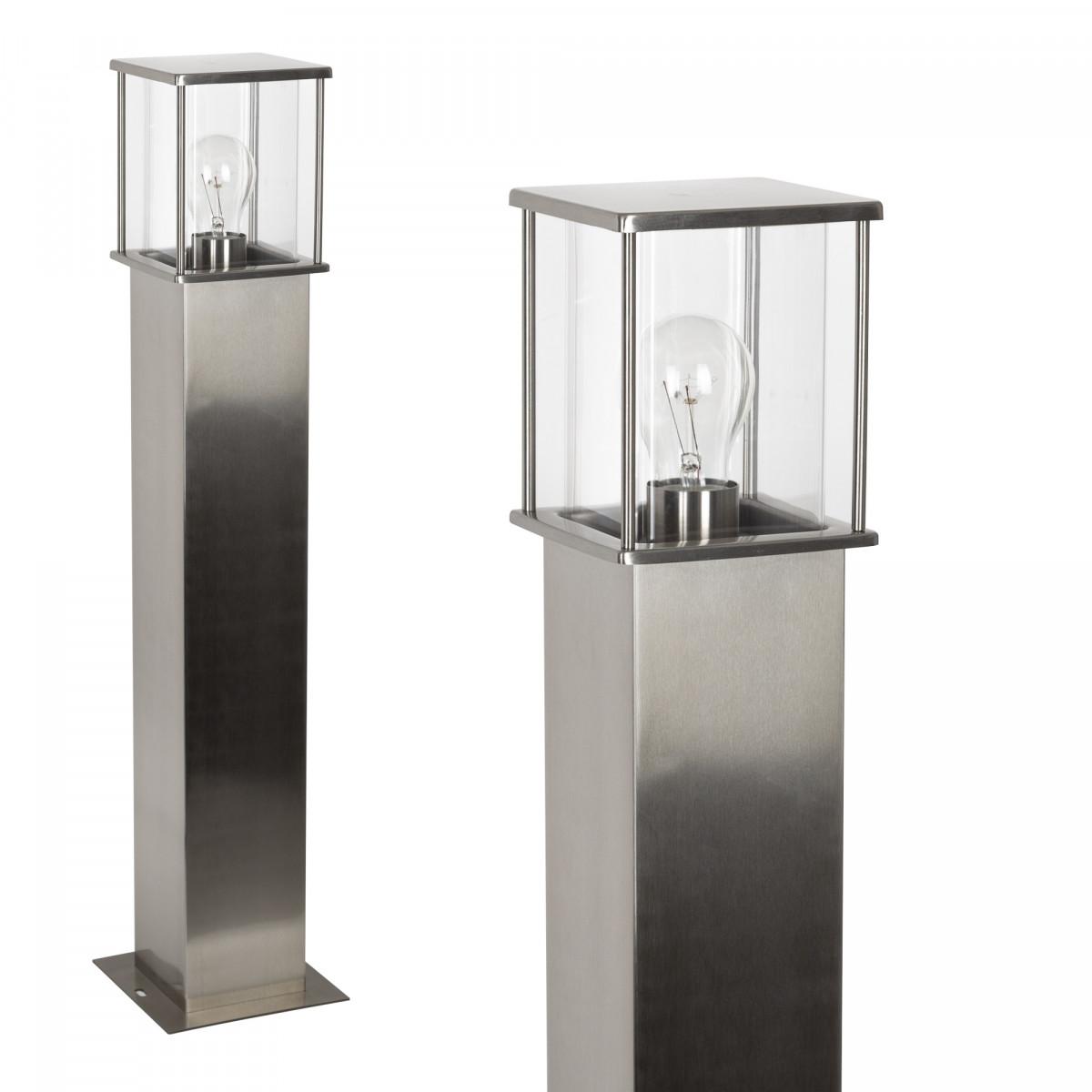3x Set - Gartenlampe Astro 1 Silber