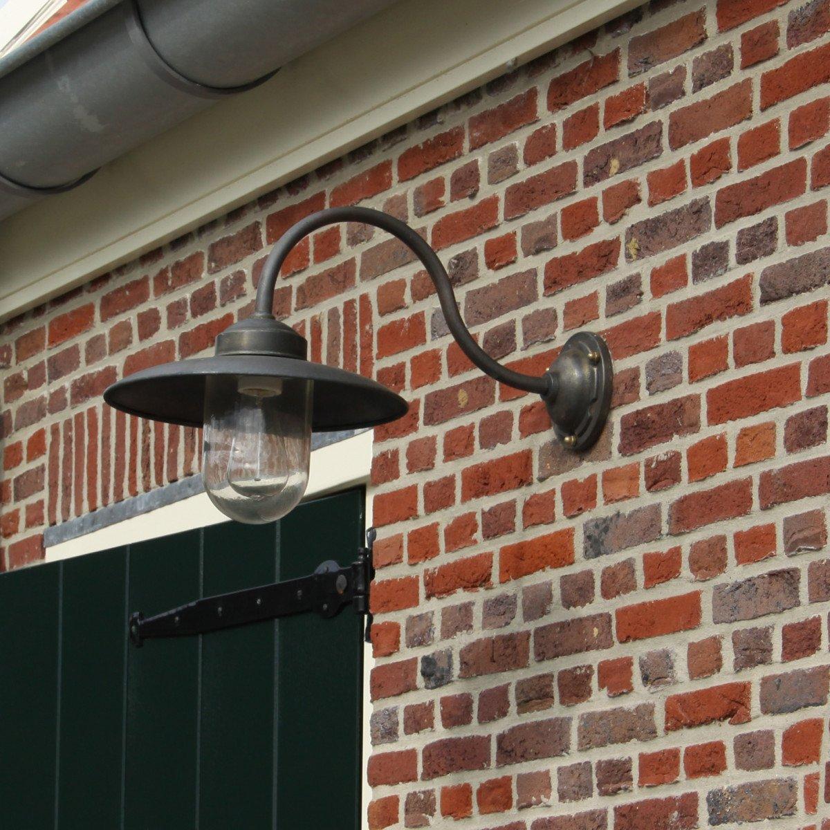 Handgemachte Hoflampe Landes Bronze/Kupfer
