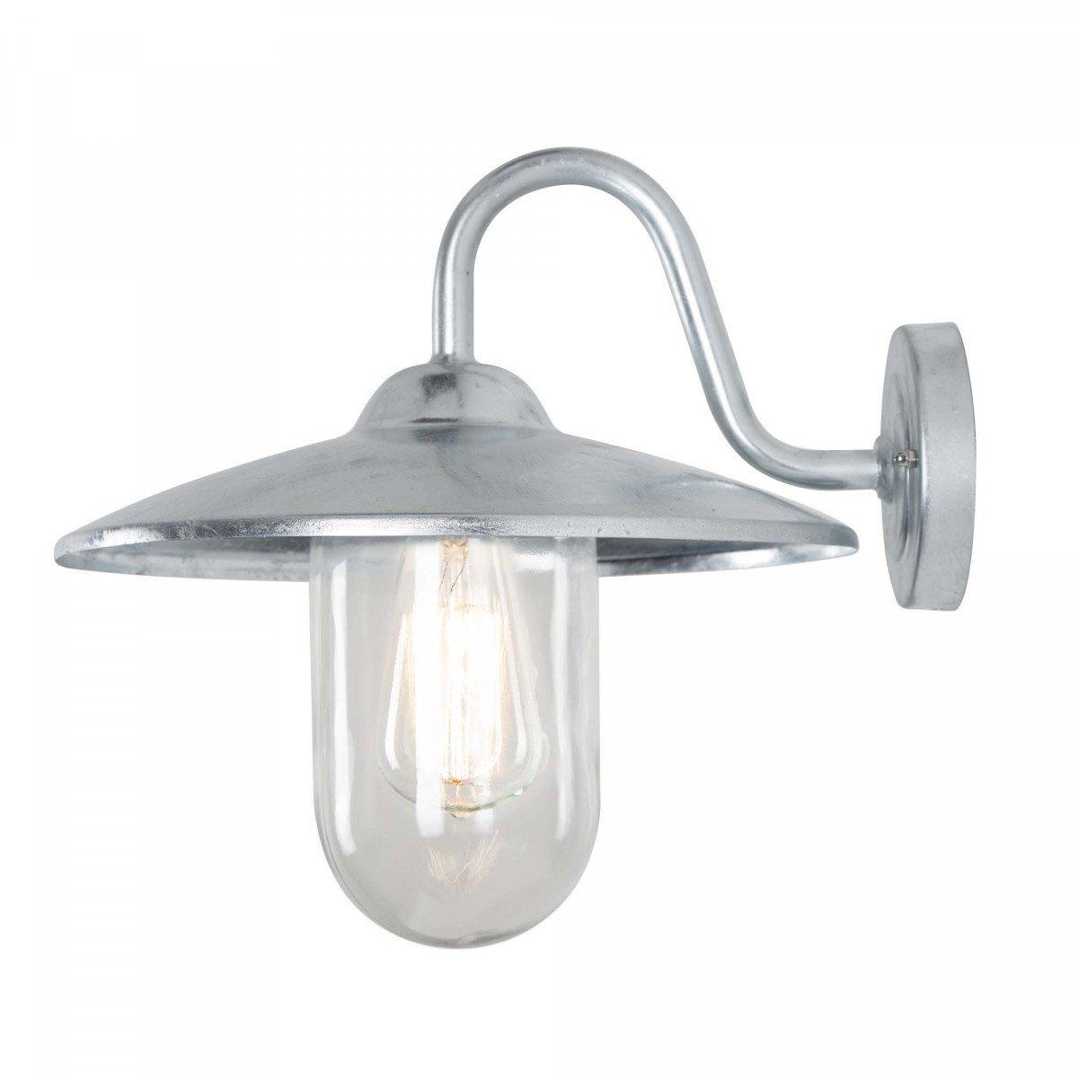 Außenlampe - Hoflampe Brig Verzinkt