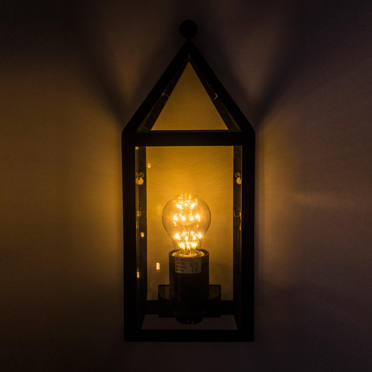 Flache Wandlampe Muiden - Außenbeleuchtung - Außenwandleuchte KS - Nostalux
