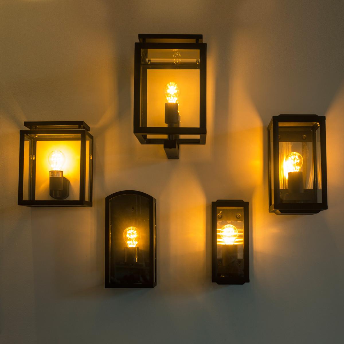 Wandleuchte Gooi Large mit Tag/Nacht-Sensor LED