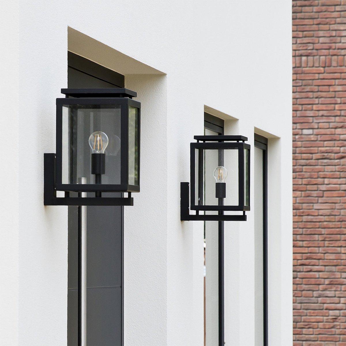 Wandlampe Vecht mit Sensor T&N - Aussenleuchte mit Tag und Nacht Sensor - Funktional und dekorativ