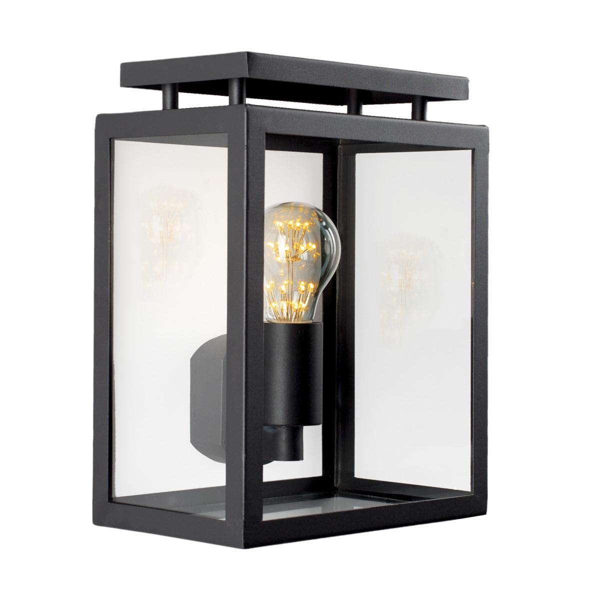 Vecht Flache Wandlampe inklusive Lichtquelle Tag - Nachtsensor