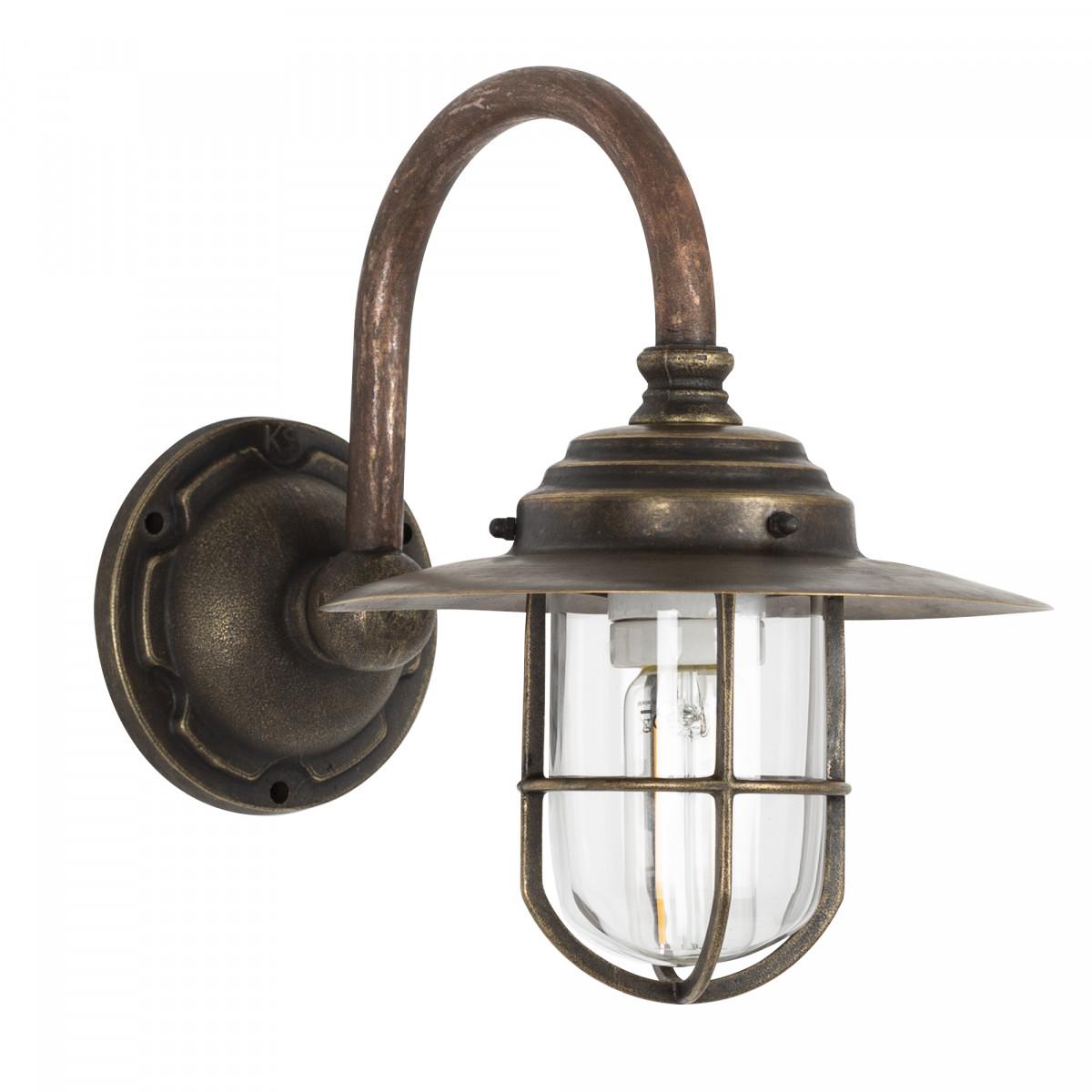 Außenlampe - Hofleuchte KS Barro Kupfer & Bronze