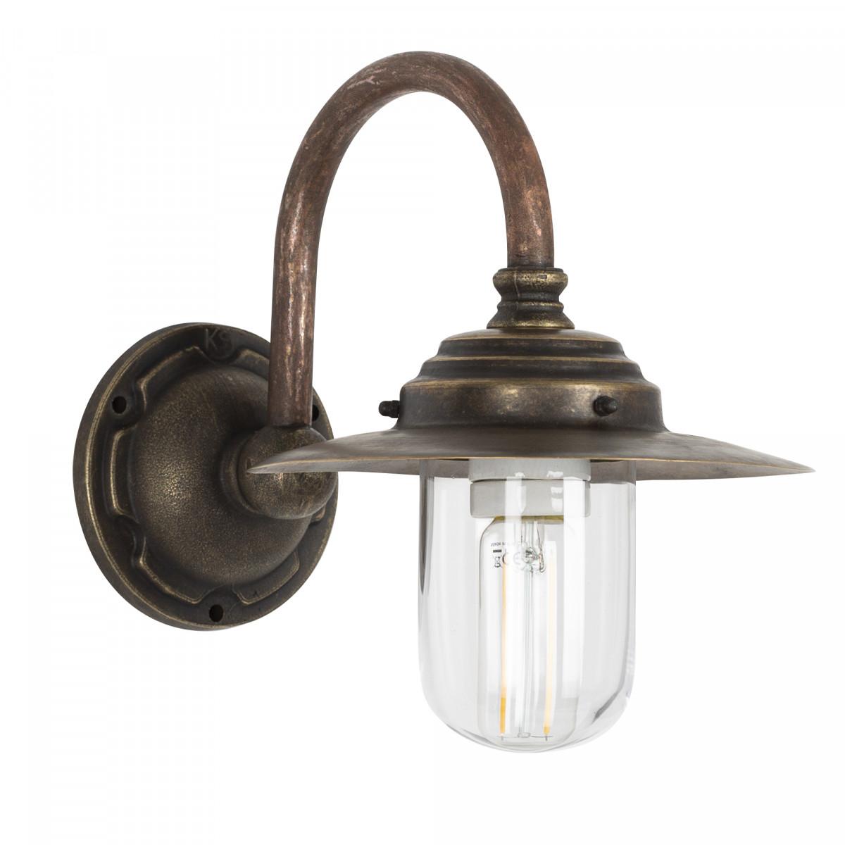 Außenlampe - Hofleuchte KS Lille Kupfer & Bronze