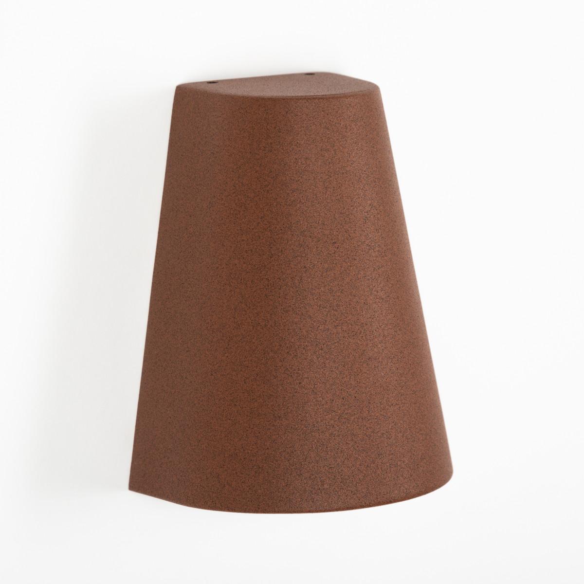 Außenleuchte Cone Downlighter Rostfarben