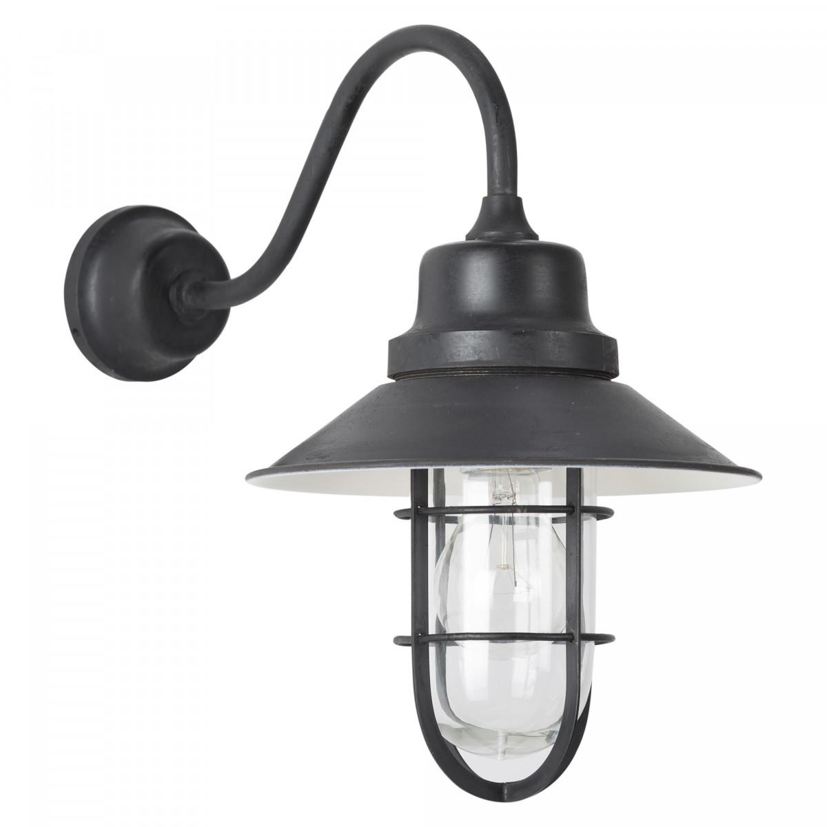 Vermont Wandlampe Antik-Schwarz