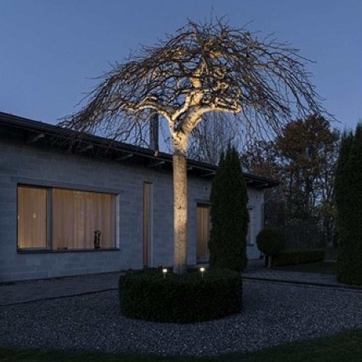 Gartenspot set Twins LED von KS 7452